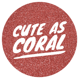 Cute As Coral Ultra Fine *Spring Fling*