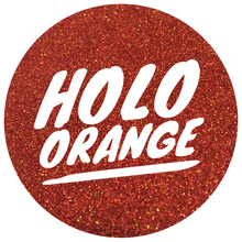 Load image into Gallery viewer, Holo Orange  *ultra fine*