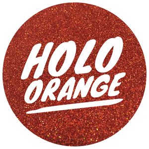 Holo Orange  *ultra fine*