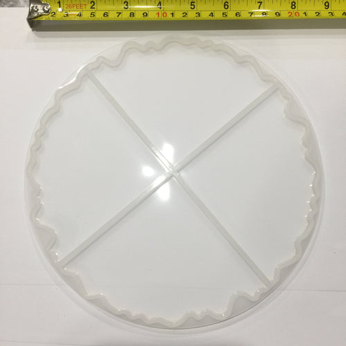 Extra Large Agate mould set coaster size