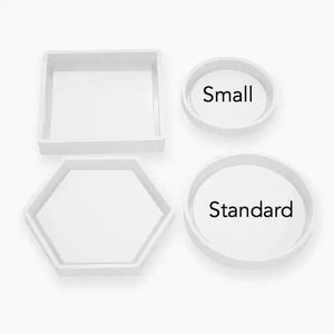 Circle/Round coaster mould standard size