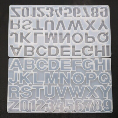 Large Alphabet Mould Keychain size