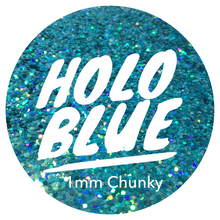 Load image into Gallery viewer, Holo Blue *1mm Chunky*