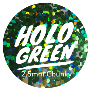 Holo Green *2.5mm Chunky*