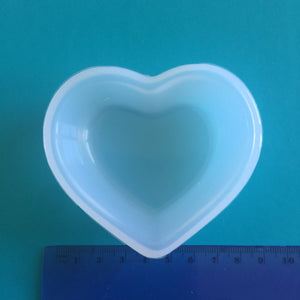 Heart dish mould for resin