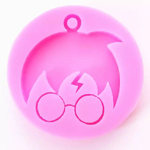 Young wizard Keychain mould