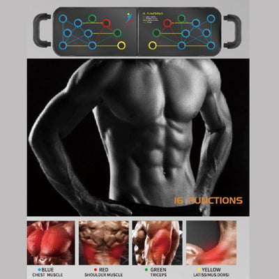 16-in-1 Workout Push-Up Rack Board Fitness Training