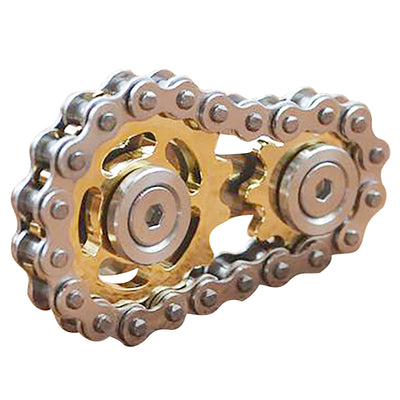 Fingertip Gyroscope Sprocket Spinner