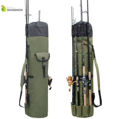 Practical Nylon Fishing Rod and Reel Carry Bag