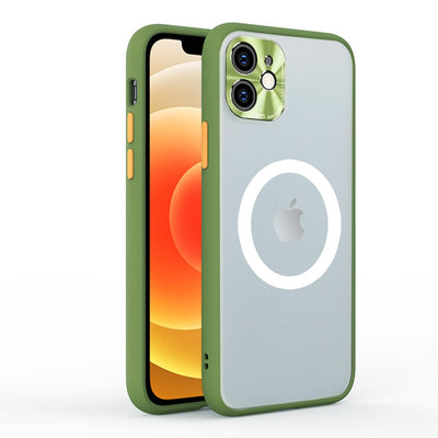 Magnetic Wireless Charging Case For iPhone All Series