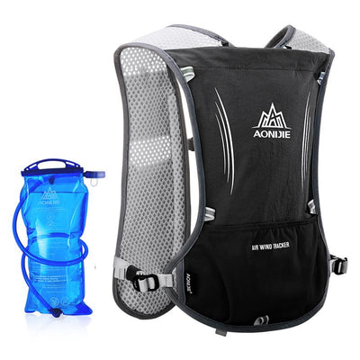 Run-Back Ultralight Outdoor Sports Backpack With 1.5L Water Bag
