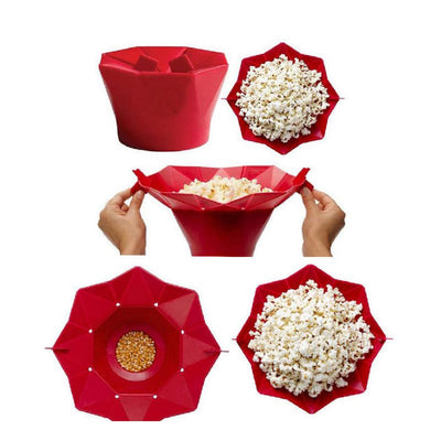 Magic Popcorn - Silicone Popcorn Bowl