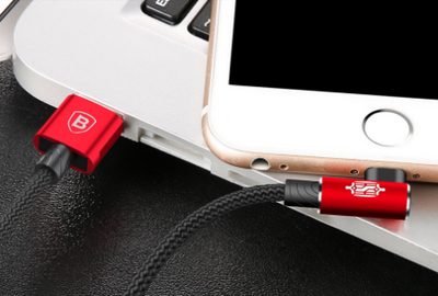 90 Degree USB Cable For iPhone