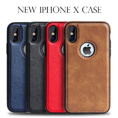 Slim Leather Case for iPhone