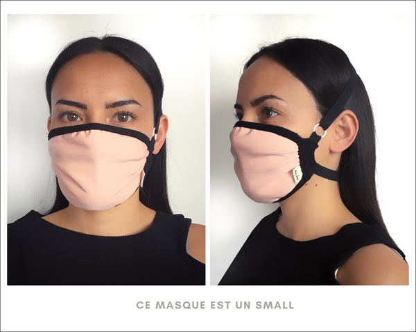 Masque de protection rose