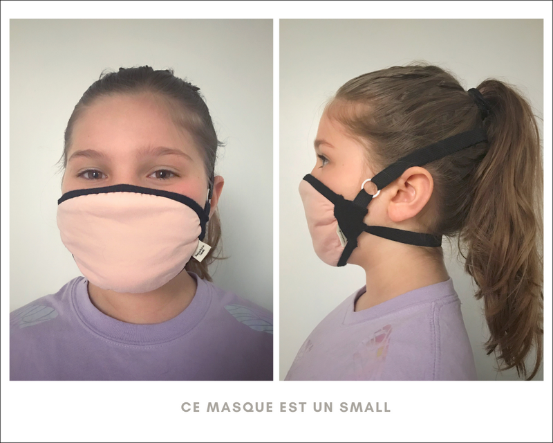 Masque de protection lilas