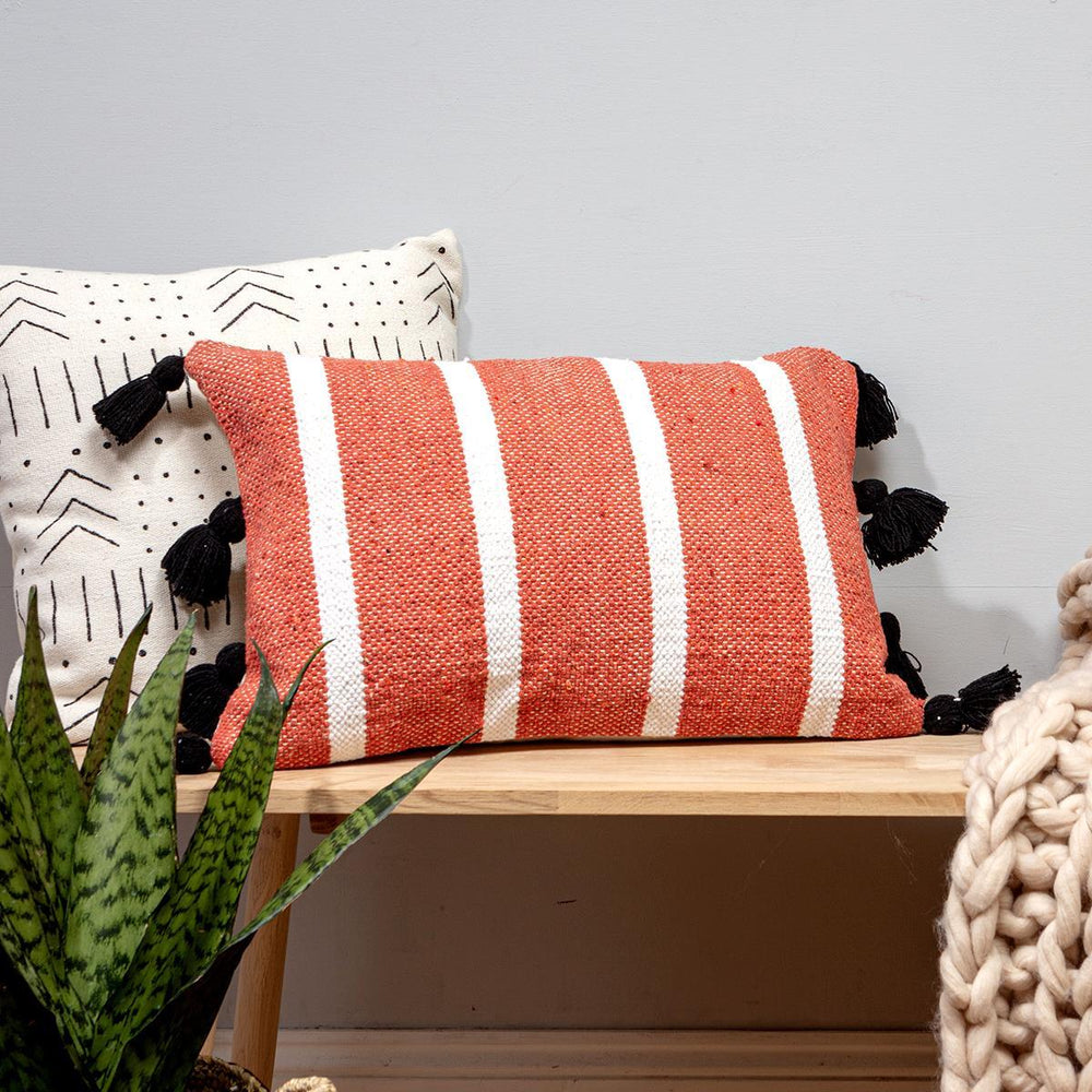 Marri Medina Cushion with Tassels