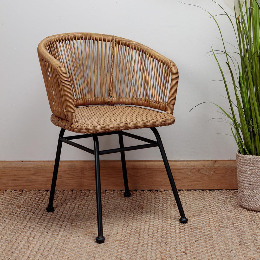 Rila Natural Rattan Tub Chair