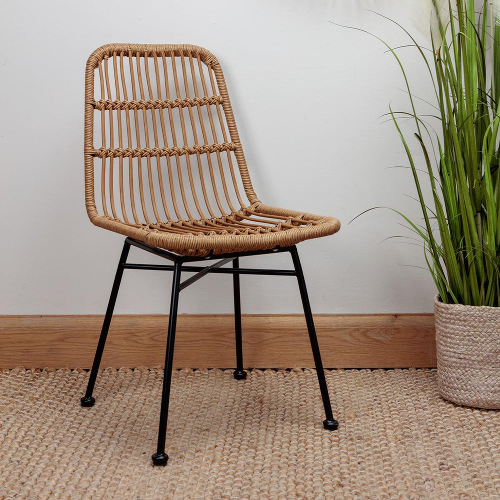 Cibo Natural Rattan Dining Chair