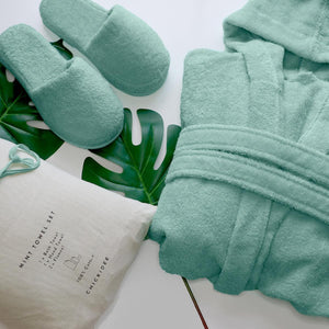 Mint Dressing Gown - Large