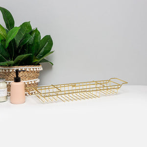 Gold Wire Bath Rack