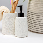 White Terrazzo Soap Dispencer