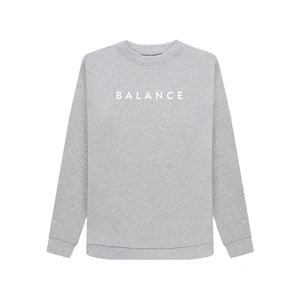 Grey Organic Cotton Balance Sweatshirt - Medium