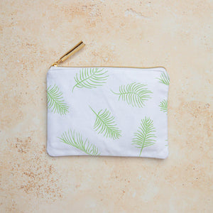 Botanical Purse with Gold Tassel
