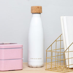 White Insulated Drinks Bottle