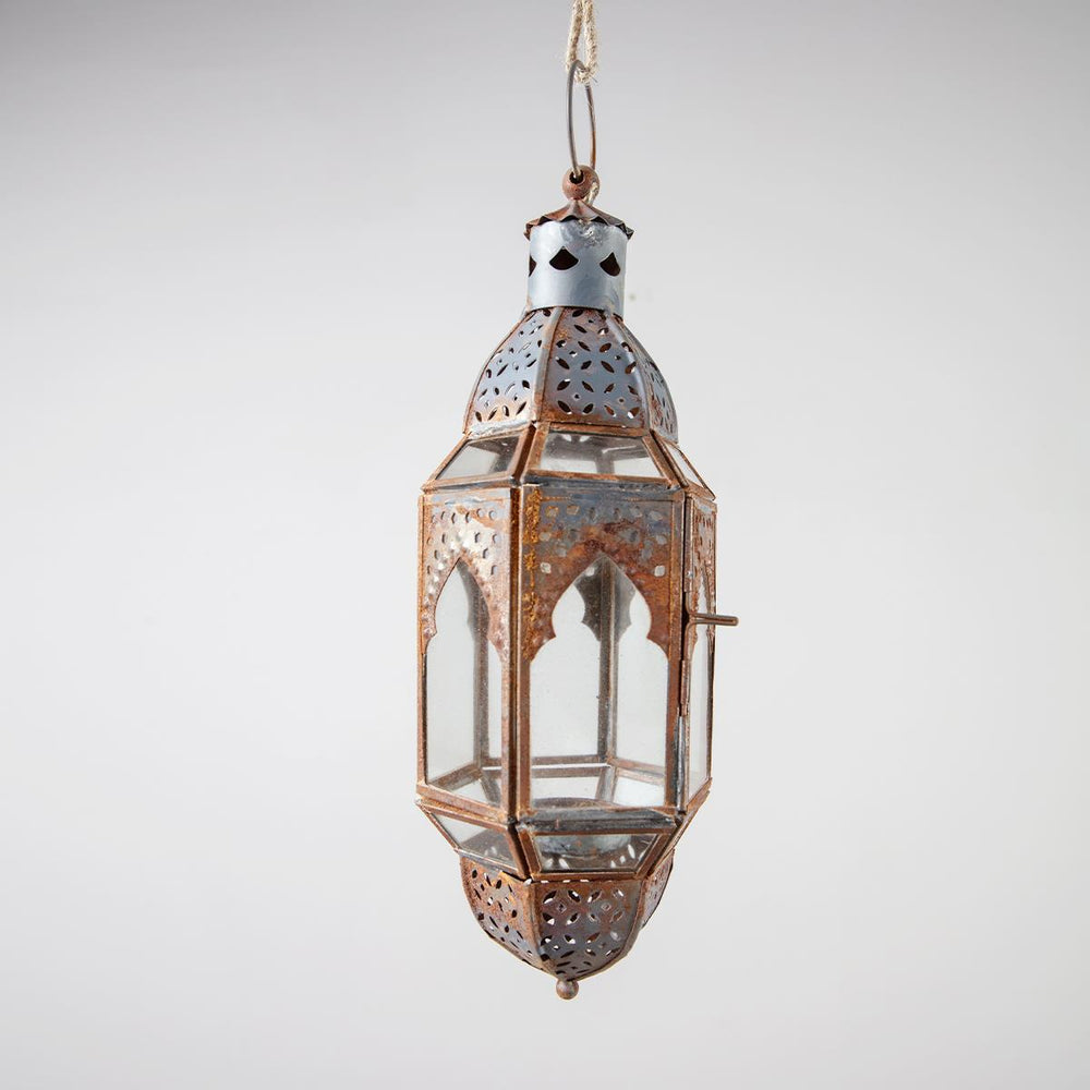 Berber Lantern - Antique Grey