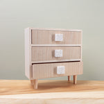 White Terazzo Desktop Drawers