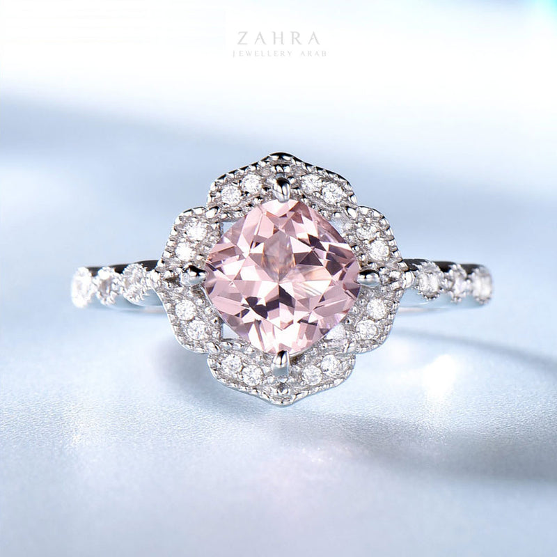 MORGANITE RING - RAMAN / رمان