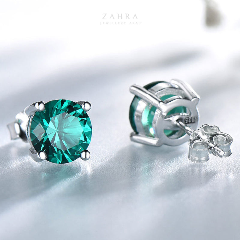 EMERALD EARRINGS - SWIFT / مائرة