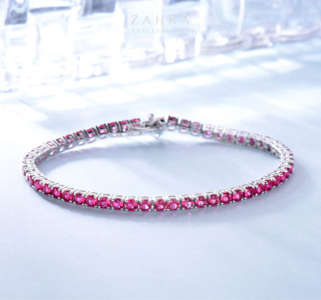 RUBY BRACELET -  LUXURY / ترف