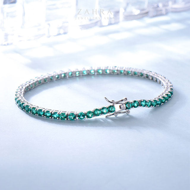 EMERALD BRACELET -  LUXURY / ترف