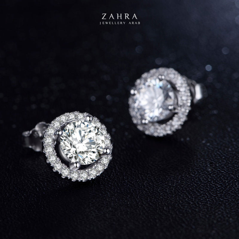 CRYSTAL EARRINGS - NAIRA / نائرة