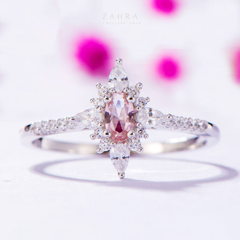 MORGANITE RING - AMIRA / أميرة