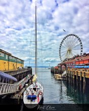 Load image into Gallery viewer, Pier 57 - Seattle, WA.