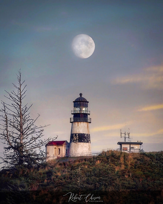 Cape Disappointment Lighthouse, Ilwaco, WA.