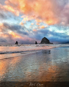 Haystack Rock and Needles - Cannon Beach, OR.