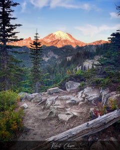 Mt. Rainier views, WA.