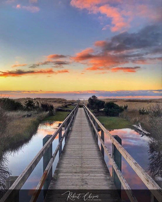 Boardwalk - Ocean Shores, WA.