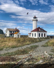 Load image into Gallery viewer, Point Wilson Lighthouse - Port Townsend, WA.