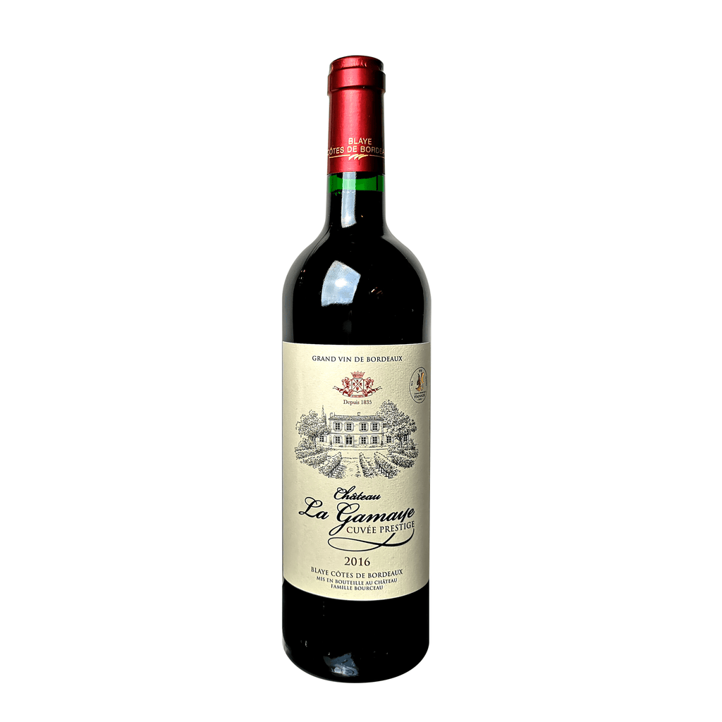 Organic Red Wine Château La Gamaye Cuvée Prestige 2018 - Wine Delivery Ireland UK and Northern Ireland
