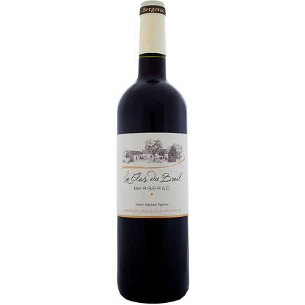 Organic Red Wine 2015 75cl Le Clos du Breil Bergerac - Wine Delivery Ireland UK & Northern Ireland