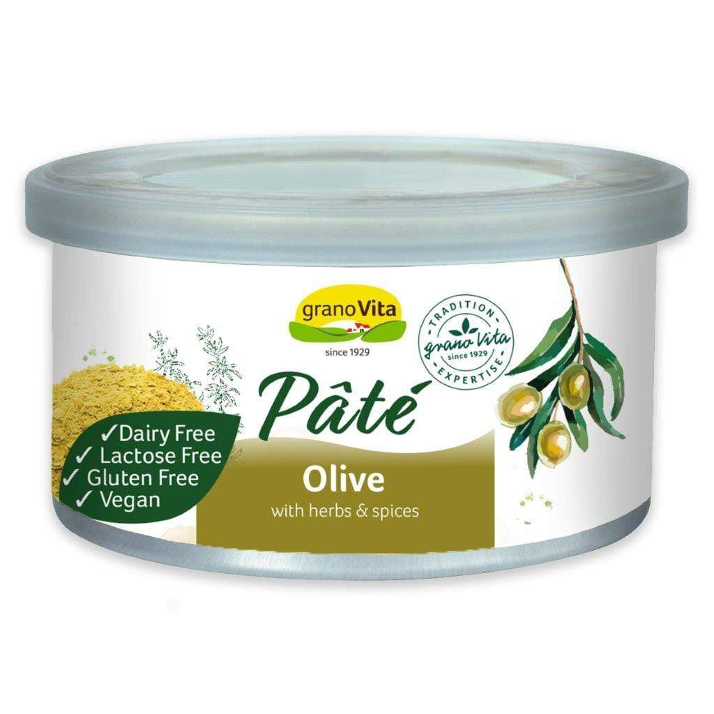 Olive pâté with herbs and spices