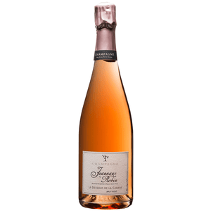 Organic Rosé Champagne 75cl With Two Flutes - Wines Delivered Ireland UK & Northern Ireland - Shop Now for the Perfect Wine Gift