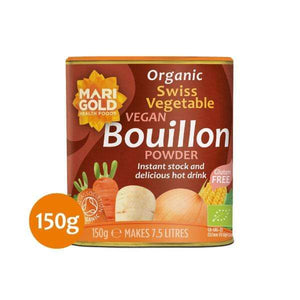 Organic Swiss Vegetable Vegan Bouillon Powder