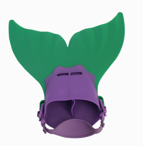 Mermaid Flippers - Small - Green /Purple (Free Shipping)