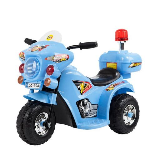 Jeronimo -  Siren Police Bike - Blue (Free Shipping)